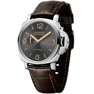 Buy Sell Panerai Luminor Due 45 3 Days Automatic Acciaio Anthracite PAM 739 at Time Galaxy Watch
