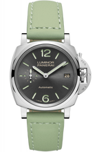 Load image into Gallery viewer, Authentic Panerai Luminor Due 38 Automatic Acciaio Anthracite PAM 755 Watch