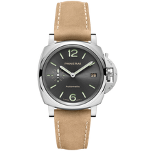 Load image into Gallery viewer, Buy Sell Panerai Luminor Due 38 Automatic Acciaio Anthracite PAM 775 at Time Galaxy Watch