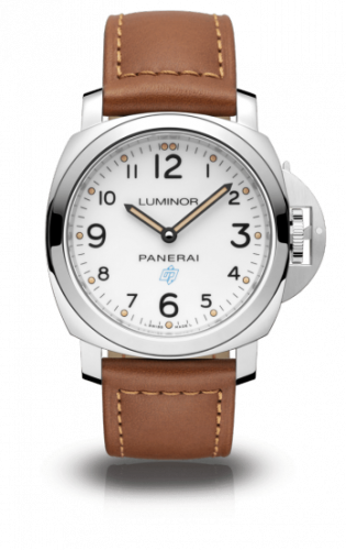 Authentic Panerai Luminor Base Blue Logo Bianco 3 Days Acciaio PAM 775 Watch