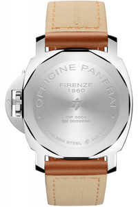 Panerai PAM00775 stainless steel and sapphire glass material