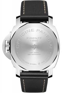 Panerai PAM776 made of stainless steel, sapphire glass, 100 m water resistance