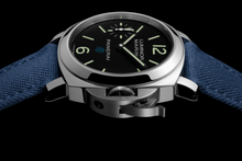 Load image into Gallery viewer, Buy Sell Panerai Luminor Marina Blue Logo 3 Days Acciaio PAM 777 at Time Galaxy Watch