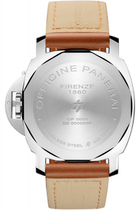 Panerai PAM00778 stainless steel and sapphire glass material