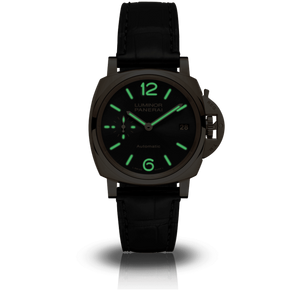 Buy Sell Panerai Luminor Due 38 Automatic Oro Rosso Black PAM 908 at Time Galaxy Watch