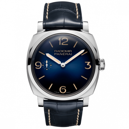 Authentic Panerai Radiomir 1940 47 3 Days Acciaio Mediterraneo PAM 932 Limited Edition Watch