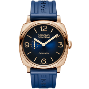 Buy Sell Trade in Panerai Radiomir 1940 45 3 Days Automatic Oro Rosso Mediterraneo PAM934 at Time Galaxy