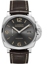 Load image into Gallery viewer, Authentic Panerai Luminor Due 45 3 Days Automatic Date Acciaio Anthracite PAM 943 Watch