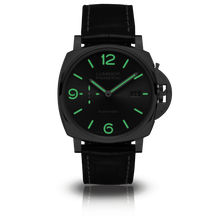 Load image into Gallery viewer, Buy Sell Panerai Luminor Due 34 3 Days Automatic Date Acciaio Anthracite PAM 943 at Time Galaxy Watch