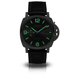 Buy Sell Panerai Luminor Due 34 3 Days Automatic Date Acciaio Anthracite PAM 943 at Time Galaxy Watch