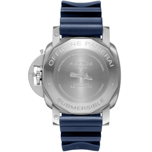 Panerai PAM959 powered by OP XXXIV, made of stainless steel, ceramic, sapphire glass