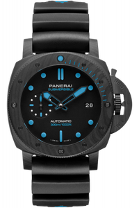 Authentic Panerai Submersible 3 Days Automatic Carbotech 42 PAM 960 Watch