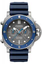 Load image into Gallery viewer, Authentic Panerai Submersible Chrono Guillaume Nery Edition PAM 982 Watch