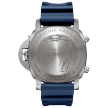 Load image into Gallery viewer, Panerai PAM982 made of stainless steel and sapphire glass, water resistant up to 1000 m