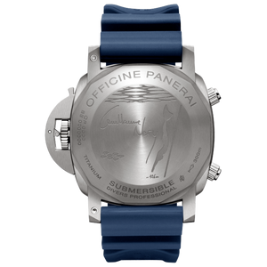 Panerai PAM982 made of stainless steel and sapphire glass, water resistant up to 1000 m