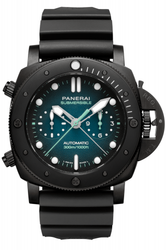 Authentic Panerai Submersible Chrono Guillaume Nery Edition PAM 983 Limited Edition Watch