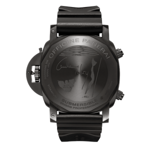 Panerai PAM983 made of Titanium, sapphire glass, DLC coating