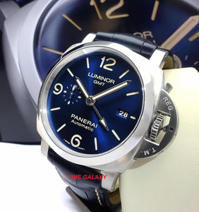 Panerai Luminor 1950 3 Days GMT Automatic Acciaio Blue PAM 1033