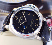 Load image into Gallery viewer, Panerai PAM1312 black dial with date and night indicator display