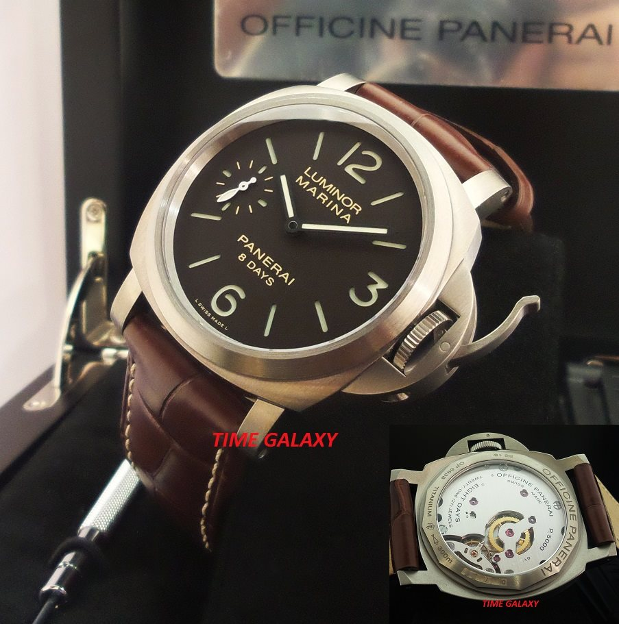 Panerai Luminor Marina 8 Days Titanio Pam 564