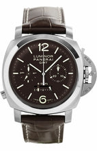 Load image into Gallery viewer, Panerai Luminor 1950 Chrono Monopulsante 8 Days GMT Titanio PAM311 Watch