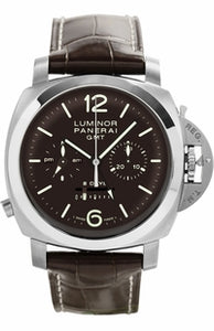 Panerai Luminor 1950 Chrono Monopulsante 8 Days GMT Titanio PAM311 Watch