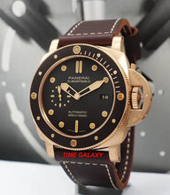 Load image into Gallery viewer, Panerai Luminor Submersible 3 Days Automatic Bronzo PAM 968 Watch