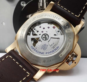 Panerai PAM00968 powered by P.9010 calibre, 200 components 31 jewels