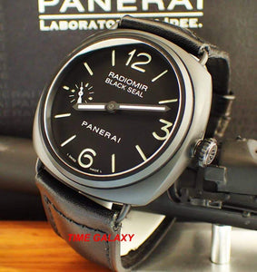 Time Galaxy Watch sell Pre-owned Panerai Radiomir Black Seal Ceramic PAM 292 good condition