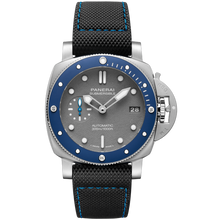 Load image into Gallery viewer, Buy Sell Trade-in Panerai Submersible 3 Days Automatic Acciaio Blue Ceramic at Time Galaxy Watch