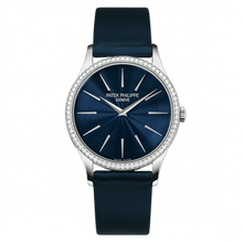 Load image into Gallery viewer, Patek Philippe Calatrava 4897 White Gold Night Blue 4897G-001 Watch