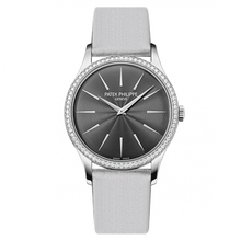 Load image into Gallery viewer, Patek Philippe Calatrava 4897 White Gold Grey 4897G-010 Watch