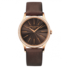 Load image into Gallery viewer, Patek Philippe Calatrava 4897 Rose Gold Chocolate Brown 4897R-001 Watch