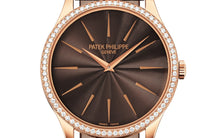 Load image into Gallery viewer, Brand New 100% Genuine PATEK PHILIPPE Calatrava Rose Gold Chocolate Brown 4897R-001 Watch