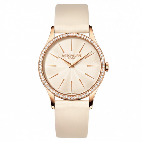Patek Philippe Calatrava 4897 Rose Gold Cream 4897R-010 Watch