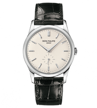 Load image into Gallery viewer, Patek Philippe Calatrava 5196 White Gold Silber 5196G-001 watch