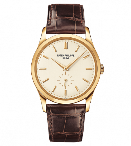 Patek Philippe Calatrava 5196 Yellow Gold Silver 5196J-001 watch