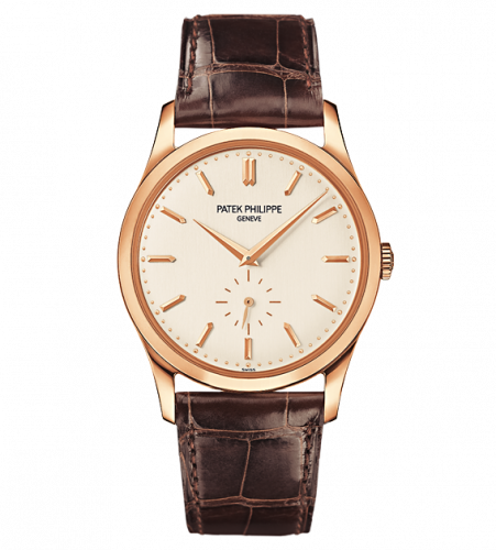 Patek Philippe Calatrava 5196 Rose Gold Silver 5196R-001 Watch