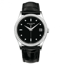 Load image into Gallery viewer, Patek Philippe Calatrava 5297 White Gold Black 5297G-001 Watch