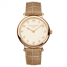 Load image into Gallery viewer, Patek Philippe Calatrava 7200 Rose Gold Silver 7200R-001 Watch