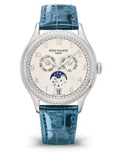 Load image into Gallery viewer, Patek Philippe Complications Annual Calendar White Gold Silver 4947G-010 Watch