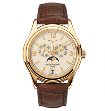 Load image into Gallery viewer, Patek Philippe Complications Annual Calendar Yellow Gold Cream 5146J-001 Watch