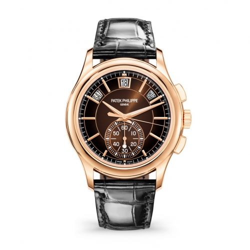 Brand New 100% Genuine PATEK PHILIPPE Annual Calendar Flyback Chronograph Rose Gold 5905R-001 Watch