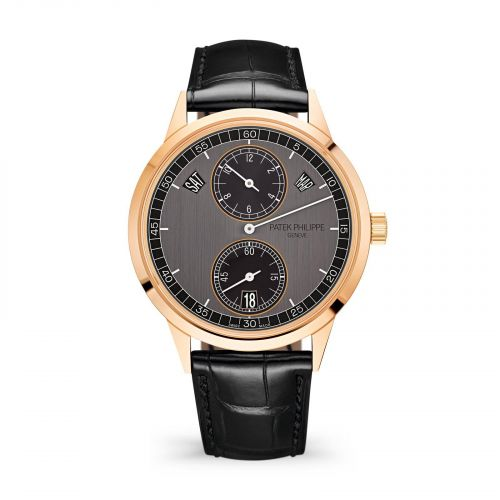 Patek Philippe Complications Annual Calendar Regulator Rose Gold Graphite 5235/50R-001 Watch