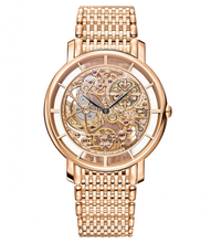 Load image into Gallery viewer, Patek Philippe Complications Calatrava 5180/1 Rose Gold Skeleton Watch