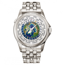 Load image into Gallery viewer, Patek Philippe Complications World Time 5131/1 Platinum Earth 5131/1P-001 Watch