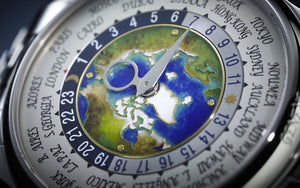 Patek Philippe 5131/1P-001 features world time