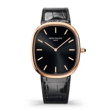 Load image into Gallery viewer, Patek Philippe Golden Ellipse 5738 Rose Gold Black 5738R-001 watch