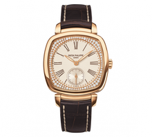 Load image into Gallery viewer, Patek Philippe Gondolo 7041 Rose Gold Silver 7041R-001 Watch