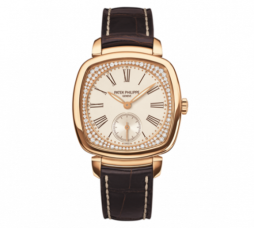 Brand New 100% Genuine PATEK PHILIPPE Gondolo Rose Gold Silver 7041R-001 Watch